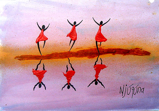 """Reflection of Joy"" by Bernard Ndichu Njuguna of Kenya"